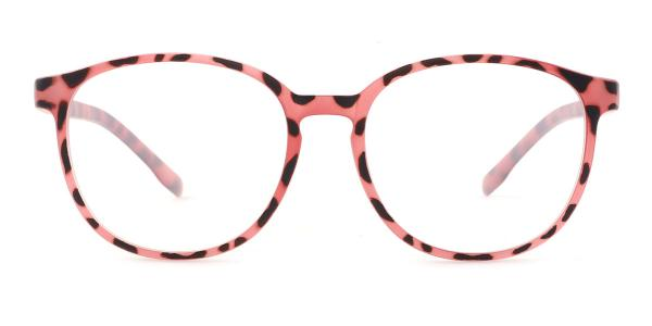 5092 Rose Round pink glasses