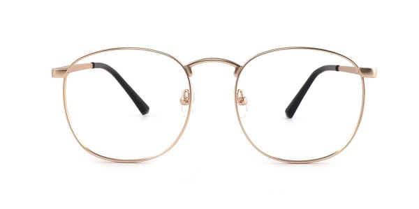 5329 Rae Oval gold glasses