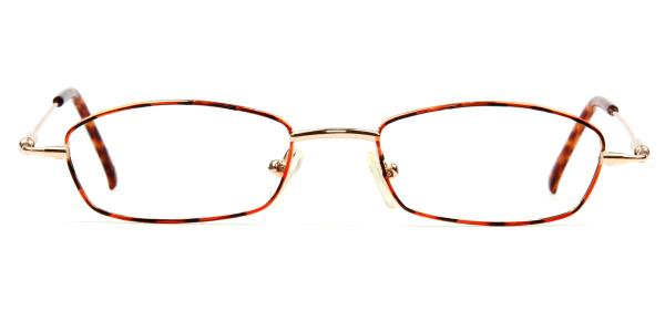 5410 diana Rectangle tortoiseshell glasses