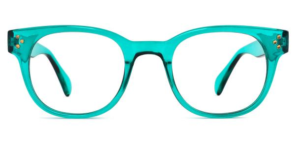 5699 Chandler Oval green glasses