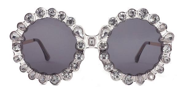 5735 Welss Round grey glasses
