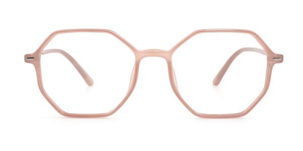 60240 Olga Geometric orange glasses