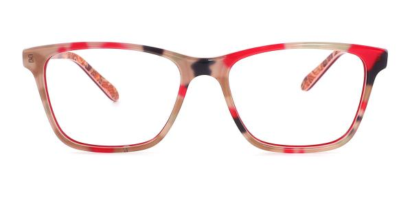 6026 Evie Rectangle tortoiseshell glasses