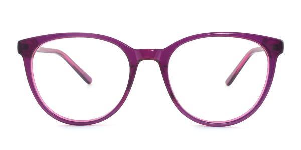 6032 Patricia Cateye purple glasses