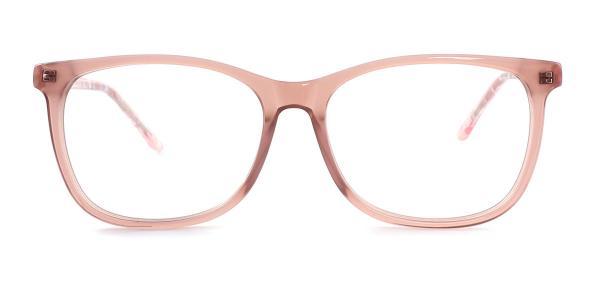 6033 Sinjin Rectangle brown glasses