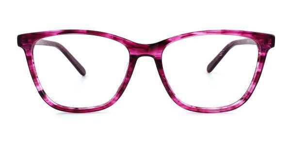 6035 Micah Rectangle pink glasses