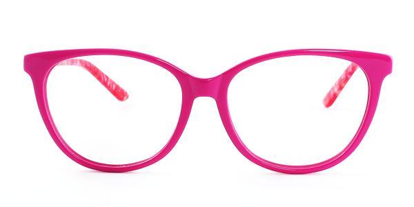 6045-1 Clara Cateye pink glasses