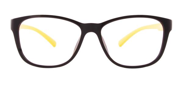 6209 June Rectangle yellow glasses