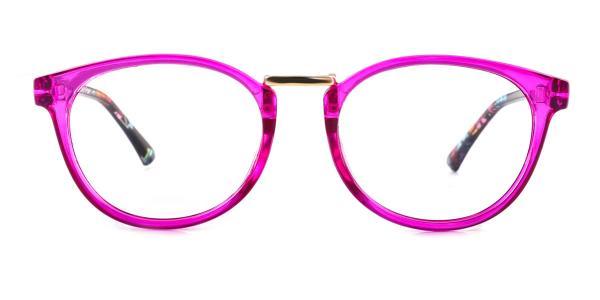 6235 Waltraud Oval purple glasses