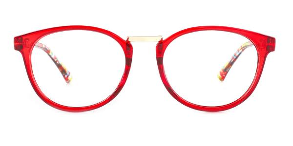 6235 Waltraud Oval red glasses