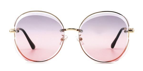 6268 Nana Oval gold glasses