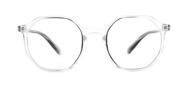6327 Donn Geometric clear glasses