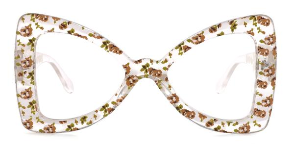 66307 Twinkle Butterfly brown glasses