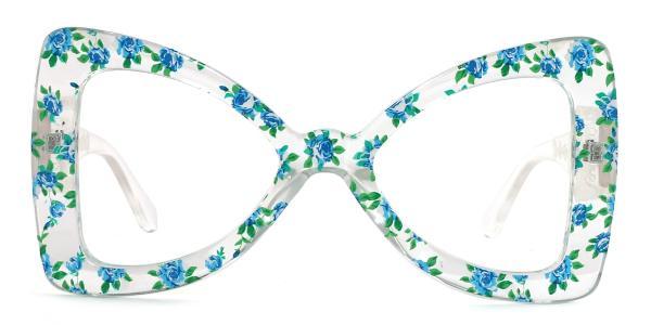 66307 Twinkle Butterfly purple glasses