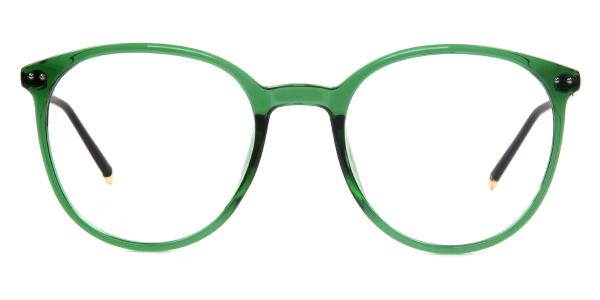 7753 Hachilah Round green glasses