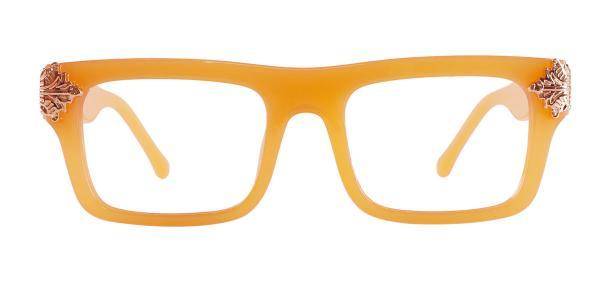 8118 Marisa Rectangle orange glasses