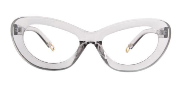 813027 Belinda Cateye grey glasses