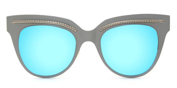 86031 Shirley Cateye blue glasses