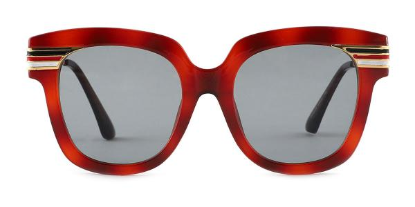 8836 Palms Rectangle red glasses