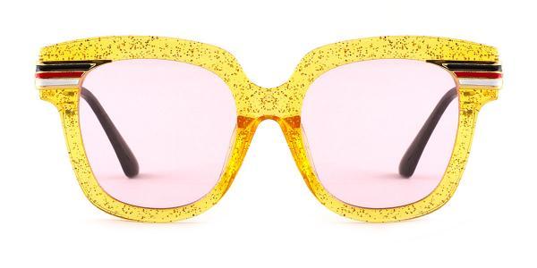 8836 Palms Rectangle yellow glasses