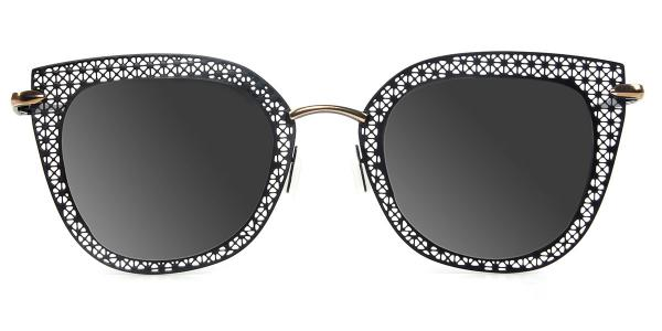 8840 Percey Cateye black glasses