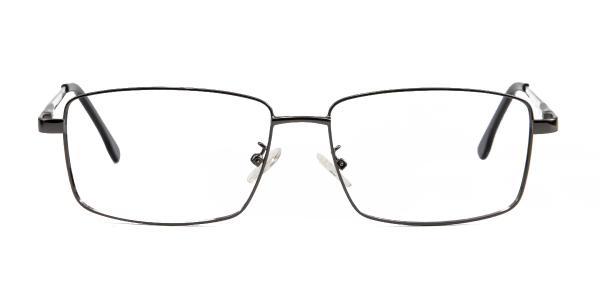 8892 Powell Rectangle grey glasses