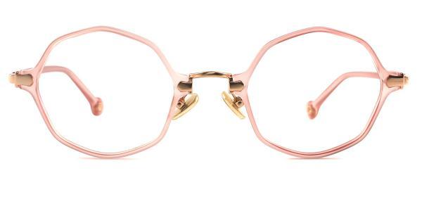 90156 Maggie Geometric red glasses