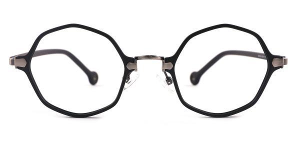 90156 Maggie Geometric silver glasses