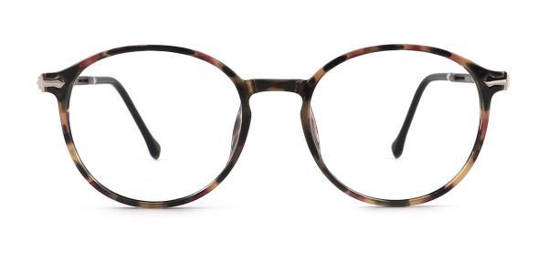 9033 Odalys Oval tortoiseshell glasses