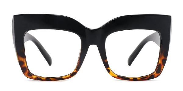 9039 Layla Rectangle gold glasses