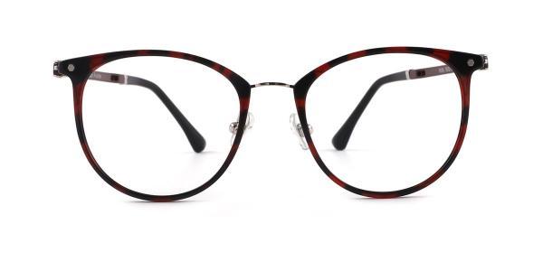 9056 Orla Oval tortoiseshell glasses