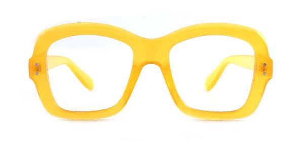 9075 Maralyn Rectangle yellow glasses