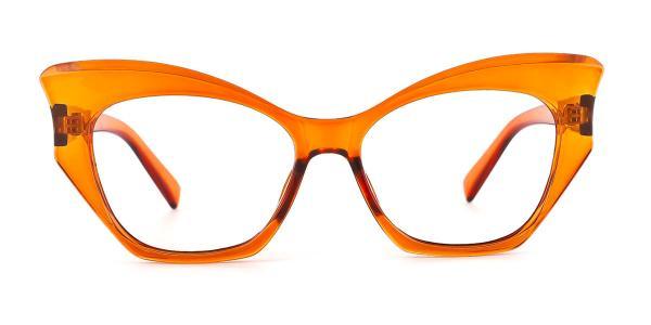 91005 Anika Butterfly orange glasses