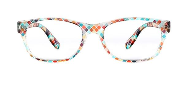 9112 Xavia Rectangle multicolor glasses