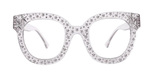 9136 Starry Oval grey glasses