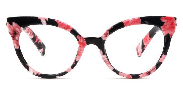 92111 Roosevelt Cateye floral glasses