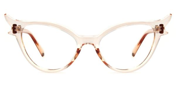 92136 Fawn Cateye brown glasses