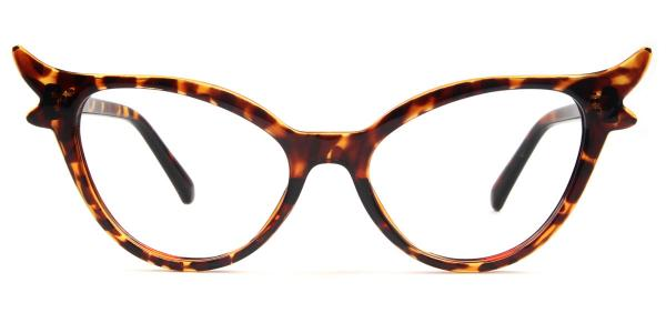 92136 Fawn Cateye tortoiseshell glasses