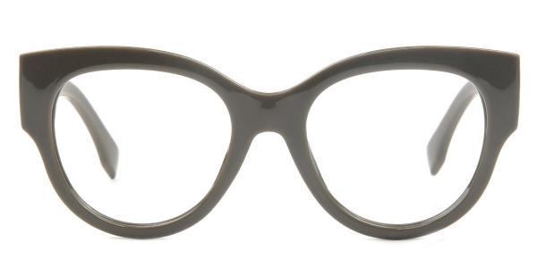 92161 Ragan Oval grey glasses