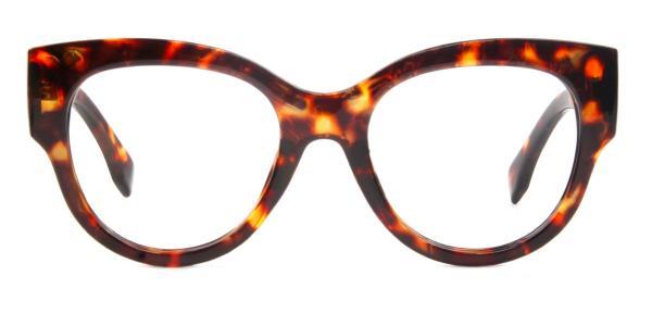 92161 Ragan Oval tortoiseshell glasses