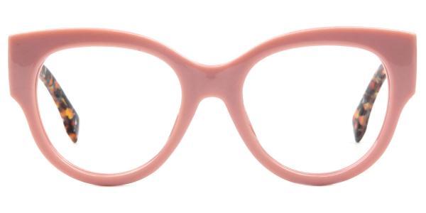 92161 Ragan Oval pink glasses