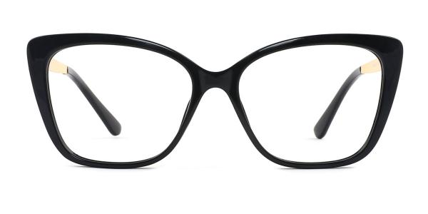 92313 Gigi Rectangle black glasses