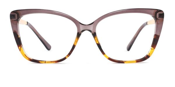 92313 Gigi Rectangle brown glasses