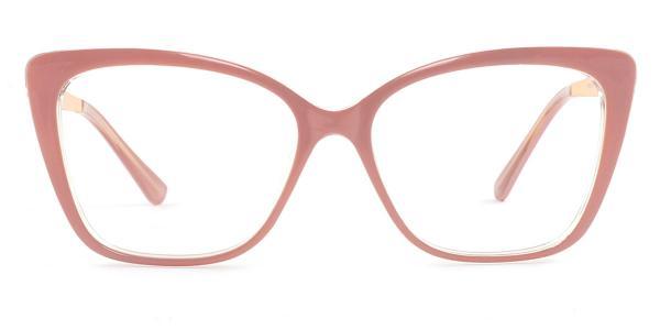 92313 Gigi Rectangle pink glasses