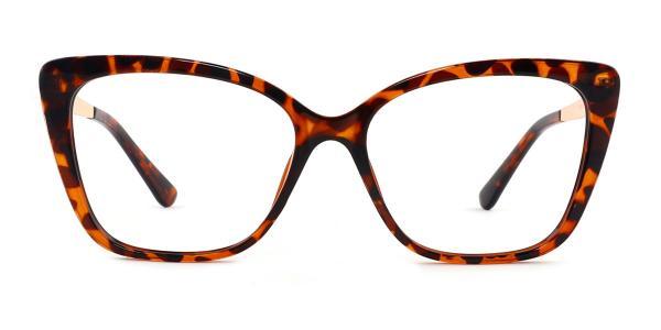 92313 Gigi Rectangle tortoiseshell glasses