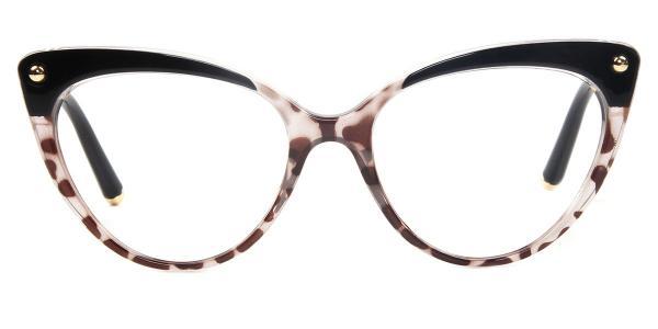 93308 Sims Cateye brown glasses