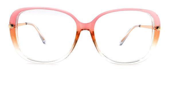 93312 Tatum Oval pink glasses
