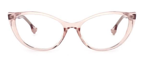 93366 nehemiah Cateye pink glasses