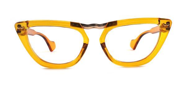 95061 Payton Cateye yellow glasses