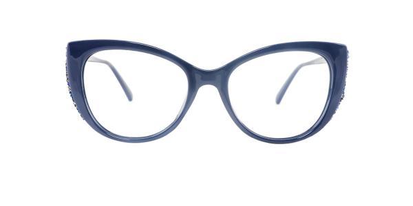 95141 Mathilda Cateye blue glasses
